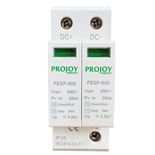 PESP600 DC Surge Protector (Type2 / Type 1+2)