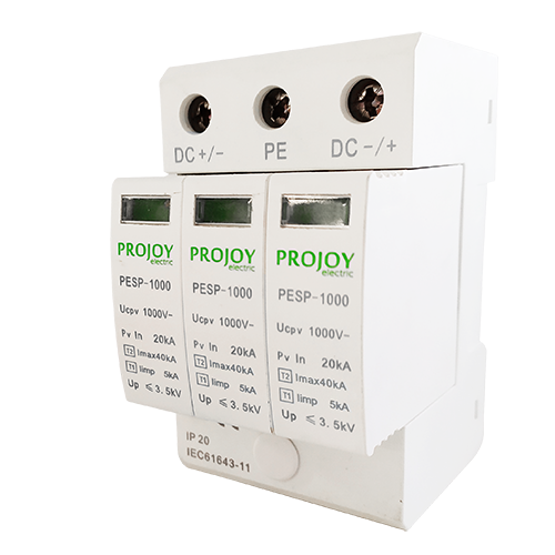 PESP1000 DC Surge Protector (Type2 / Type 1+2)